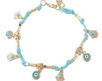 Protective Bracelet | Blue Evil Eye Charm