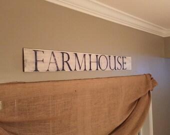 Farmhouse antique sign