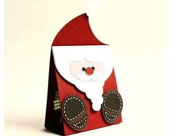 "plotterdatei - gift bag ""santa claus"""