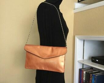 SALE  - UIrresident Orange Shoulder Handbag