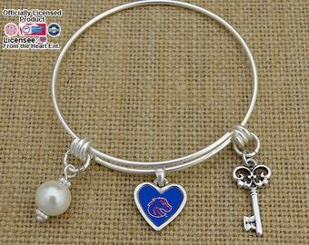 Boise State Broncos Memory Wire Bracelet