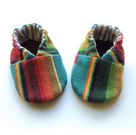 Chumash soft soled baby shoes slip-on shoes booties