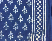 Indigo Indian fabric, yardage, khadi, Dress materials, indigo