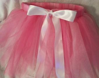 Pretty in Pink Infant to Adult Size Tutu - Pink Princess Tutu - Light/Dark Pink Tutu - First Birthday Tutu
