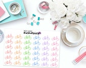 BIKE / HOBBY / SPORTS Paper Planner Stickers!