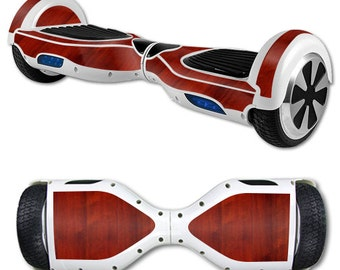 Skin Decal Wrap for Self Balancing Scooter Hoverboard unicycle Cherry Wood