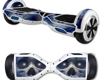Skin Decal Wrap for Self Balancing Scooter Hoverboard unicycle Haunted Skull