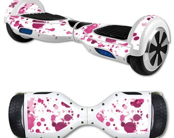 Skin Decal Wrap for Self Balancing Scooter Hoverboard unicycle Pink Drops