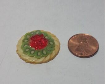 1:12 Scale Fruit Tart, Miniature Fruit Tart