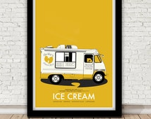 Raekwon of the Wu-Tang Clan - Ice Cream poster - 1995