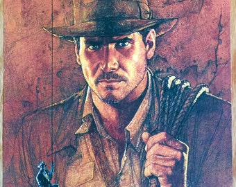 Raiders Of The Lost Ark Indiana Jones poster 11 X 17