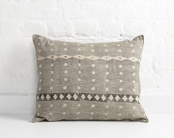 Hand Block Printed & painted cushion - Avaliable at THE NEWCRAFTSMAN