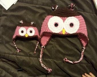 Adorable little owl hat