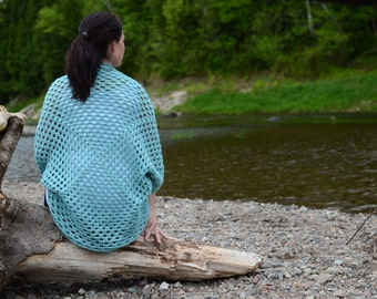 Cocoon Sweater, Crochet Cocoon Sweater, Spring Sweater, Summer Sweater, Fall Sweater, Cardigan