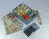 Terra Mystica AND Fire  Ice expansion  3mm Birch ply Laser cut Game Box Organiser  quick and easy set up for a great game!