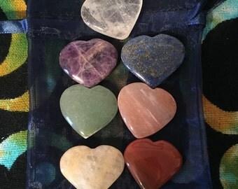 Charka Heart Crystals