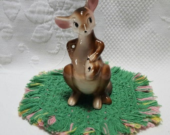 Vintage KANGAROO with baby in pouch
