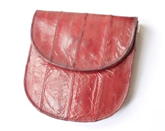 Vintage Eel Skin Wallet/Purse