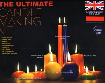 ULTIMATE CANDLE Making KIT, Brand New Craft Kit