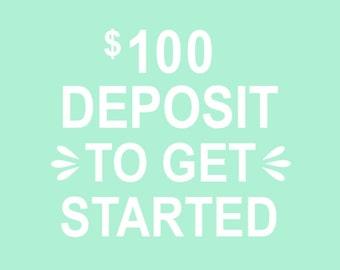 Deposit for Custom Design Orders