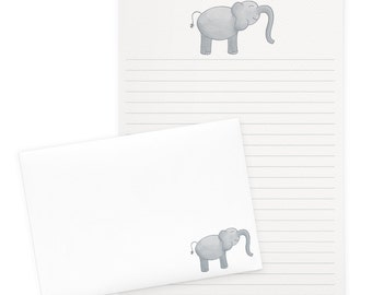 Little Elephant Letter Writing Set