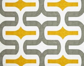 Valance. Kitchen valance. Gray YellowValance . Custom Valance .Gray Yellow valance