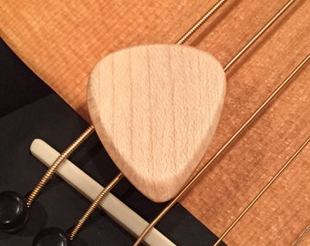 Maple Wood - Wooden Guitar Pick