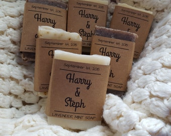26 Wedding Soap Favors, Bridal Shower Favors, Baby Shower Favors