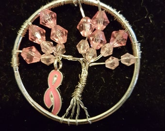 Breast Cancer Awarness Jewerly (Necklace and Necklace Set)
