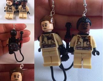 Lego GhostBusters Earrings