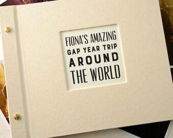 Personalised Typographic Photo Album