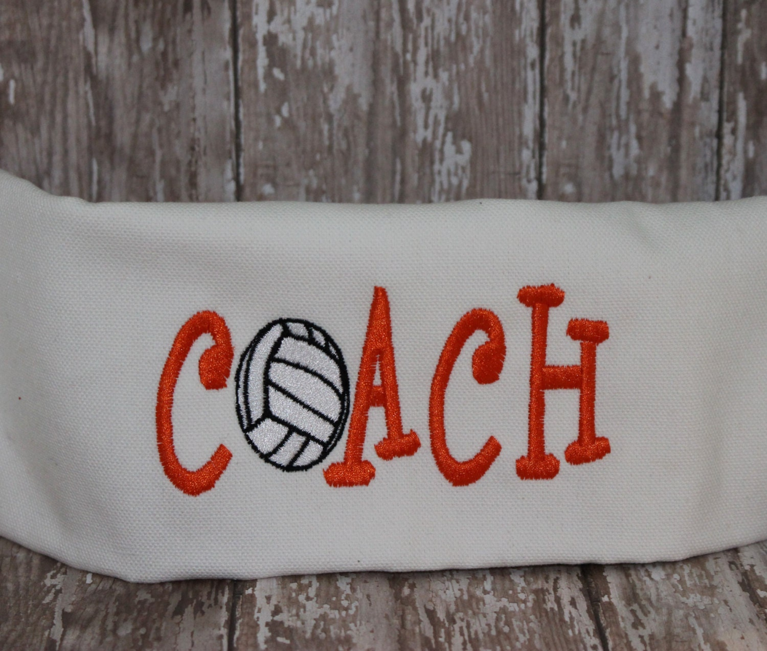 Volleyball embroidery design coach embroidered by