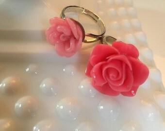 Fun flower rings