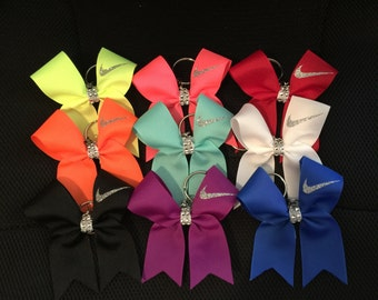 Nike cheer bow keychains!!! Many COLORS! Match your bow!!!!