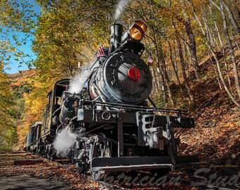 Old Railroad Steam Engine:  Durbin Rocket (C400)