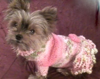SMALL DOG PINK Sweater