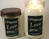 Valentine gift, caramelized praline scented candle, husband gift,Candle for men, Candle for women, pure soy candle