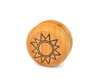 Wooden Sun Yo Yo - A Waldorf and Montessori Inspired Classic Toy