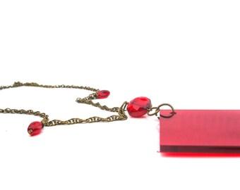 Acrylic Value Finder Necklace