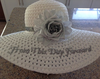 Bridal Sun Hat