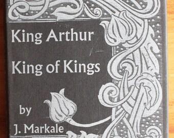 Vintage King Arthur Book Academic History Hardback King Arthur King of Kings Jean Markale English Translation 1977