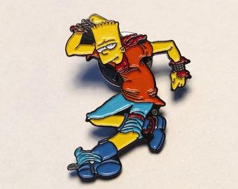 Bart Jerks (enamel pin+sticker)