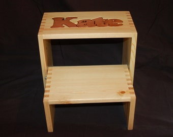 Step Stool - Personalized