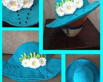 Daisy sun hat