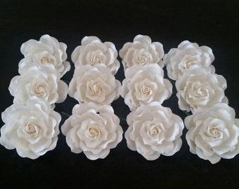 WHOLESALE: 12 Large Sugar Roses