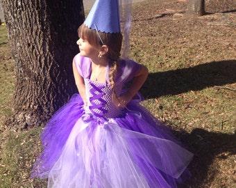 Rapunzel Costume Tutu  Dress *Tangled Inspired