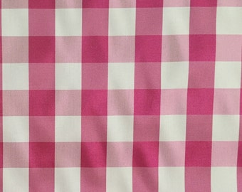 Check - Pink - Fabric by the Yard