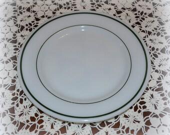 "Vintage Pyrex ""Double Tough"" Dinner Plate, 9 inch Diameter"