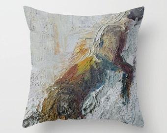 Perching Rabbit Pillow