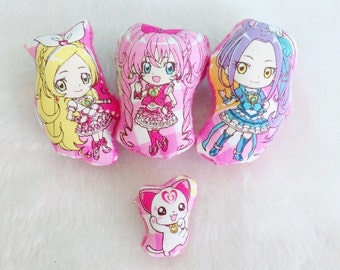 Kawaii Anime Plush Pins (4)